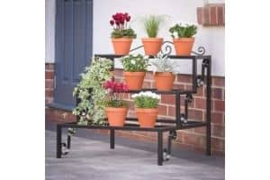 Nayab® Step Style 6 Pot Rectangular Flower Planter Display Plant