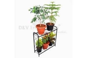 D&V Engineering - Innovation Metal 2 Tier Rack Type Plant Stand