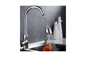 Zovali Flexible Faucet for Kitchen Sink